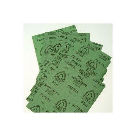 8x6 Feuilles De Papier Abrasif A L Eau Papier Feuille Poncage