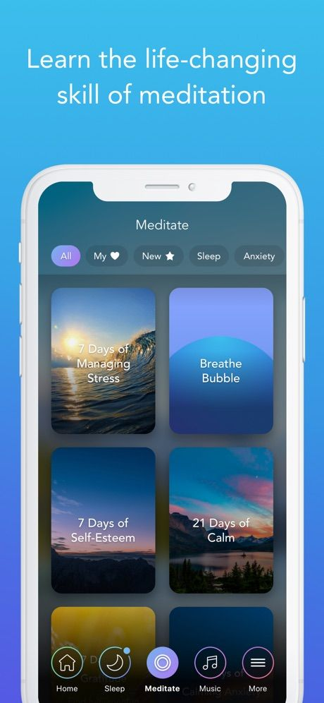 ‎Calm on the App Store Calm meditation, Health app