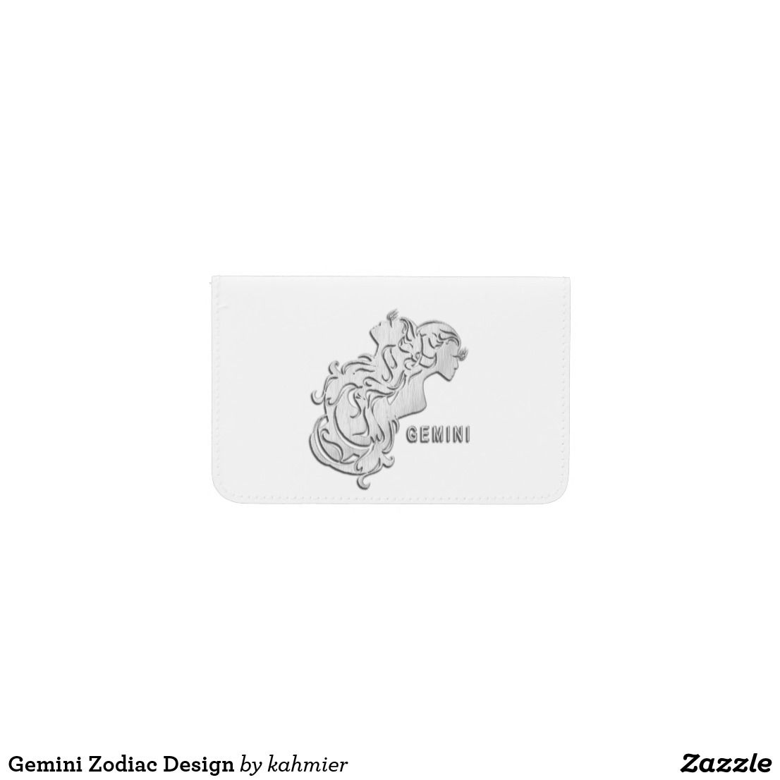 Gemini Zodiac Design Business Card Holder | Gemini zodiac and ...