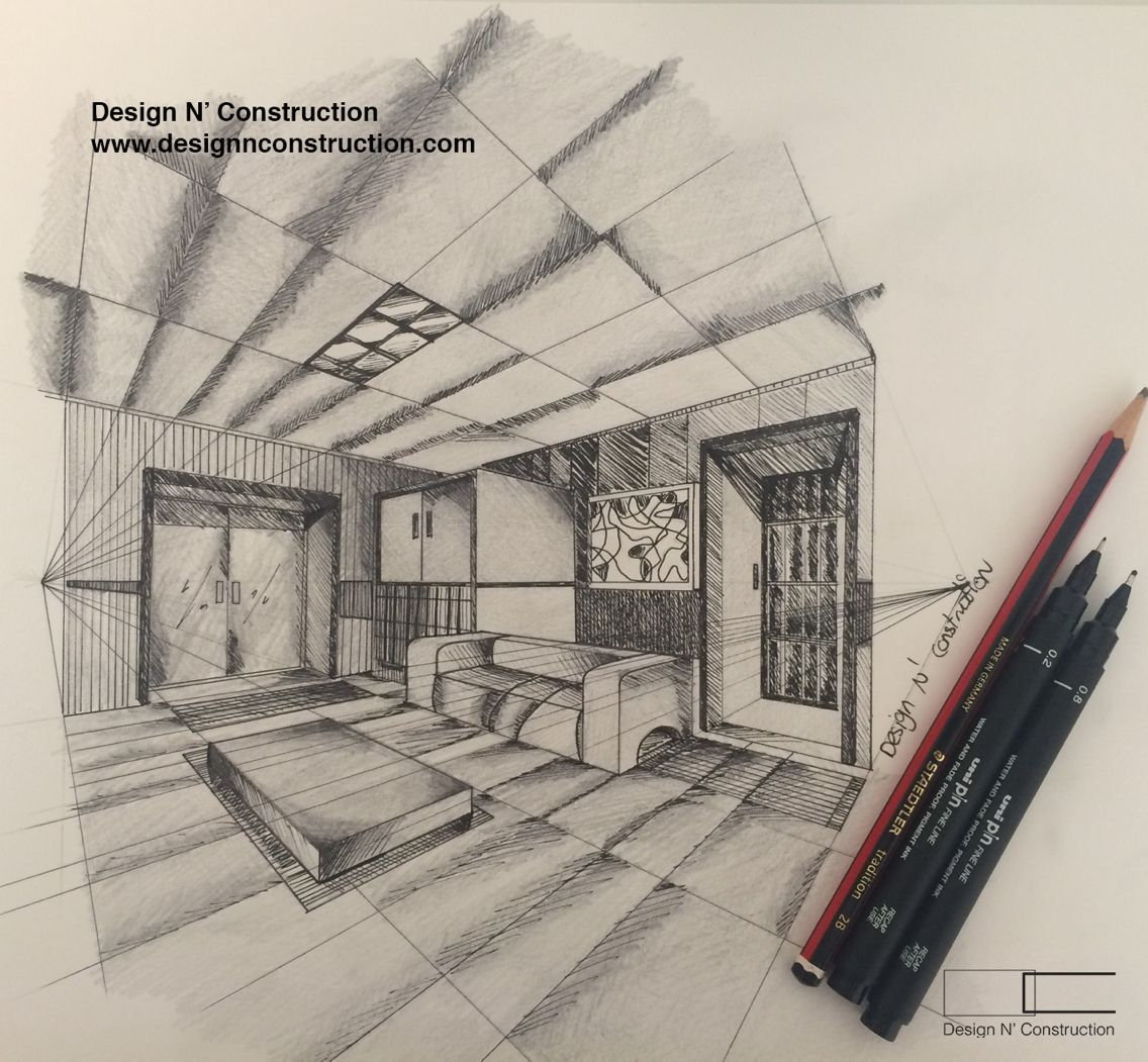How To Draw A Two Point Perspective Room This Has Been Requested And Now It