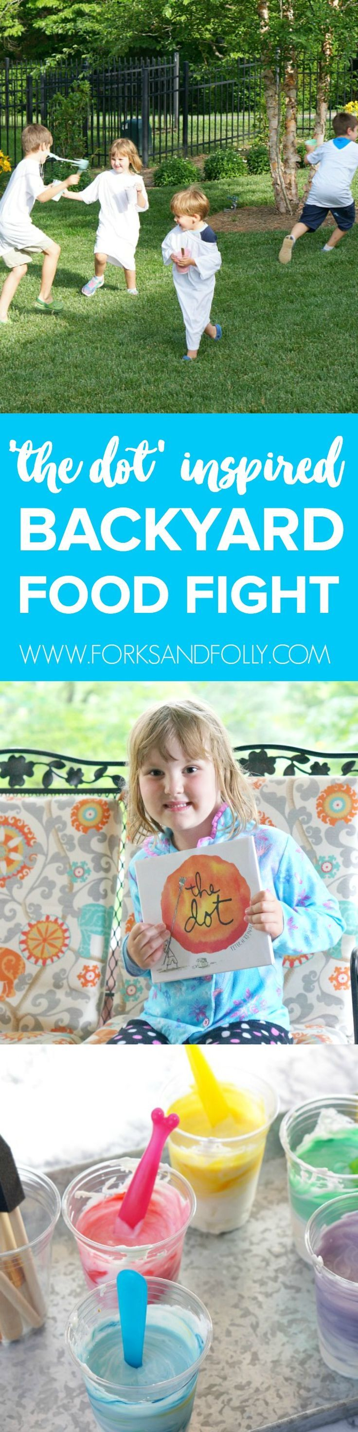 Kitchen Stories: \'The Dot\' Inspired Backyard Food Fight | Kitchen ...
