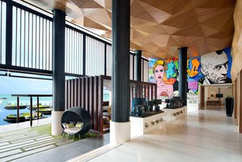 W lounge at the W retreat and spa in Koh Samui #whotels