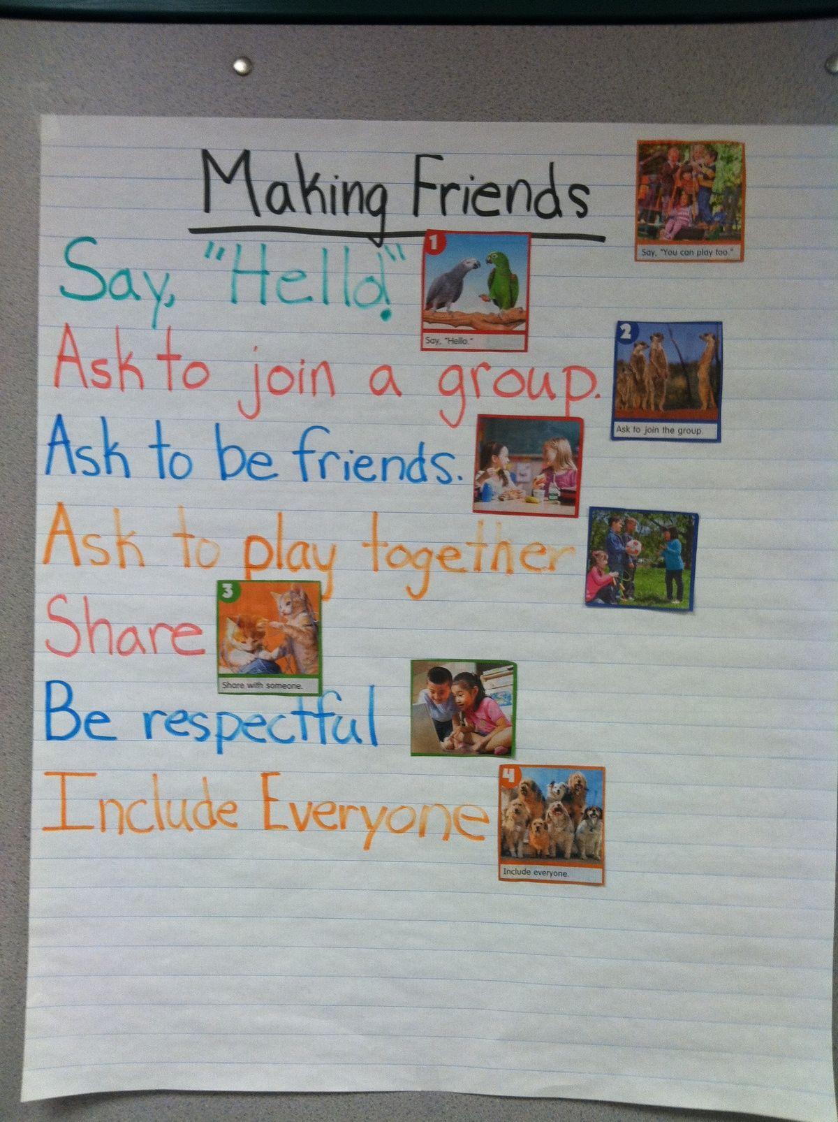 Pin by Corianne Thompson on School | Preschool social ...