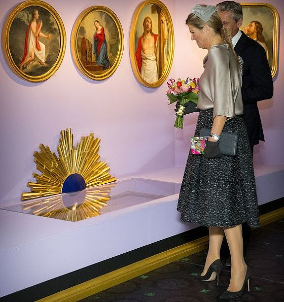 Dutch Queen Maxima opens Anna Pavlovna Exhibition at Het Loo Palace Museum