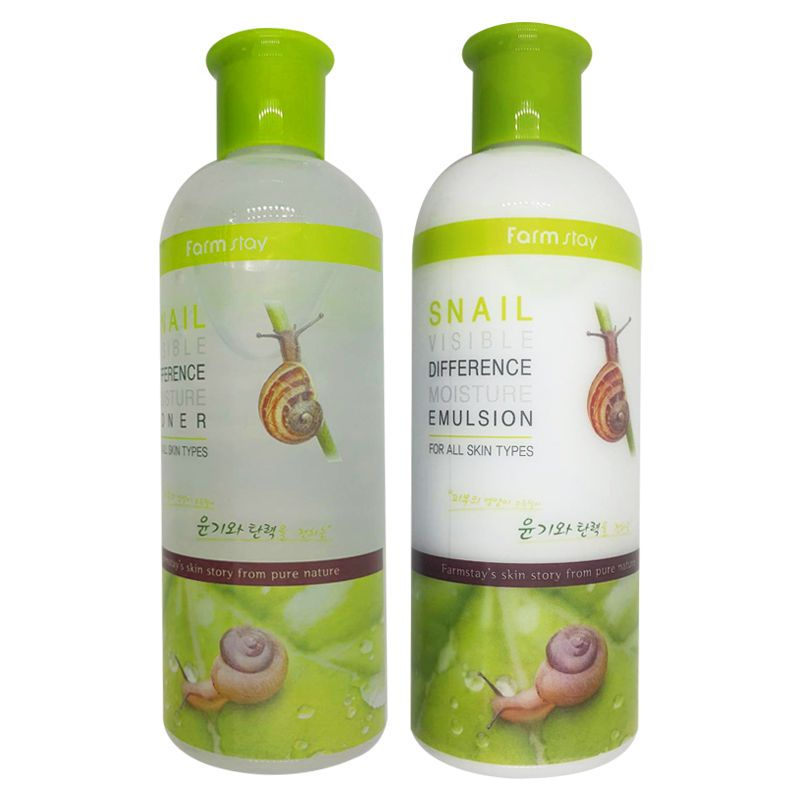 Toner Containing Snail Mucus Filterate S Mucin Allantoin And Elastin Snail Visible Difference Moisture Toner Helps Skin To Stay Moisturized Protects Skin F