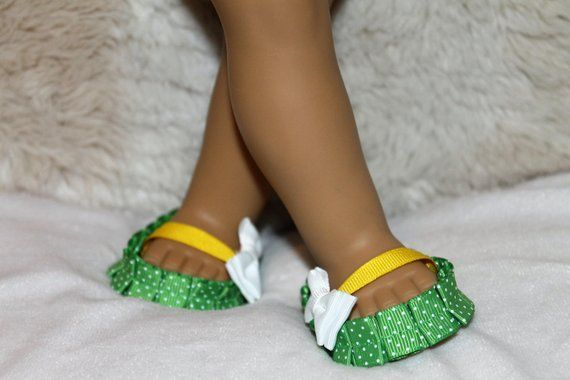 "Dolls Shoes for 18/"" AG American Doll  Dolls Slipper Sandals Summer"