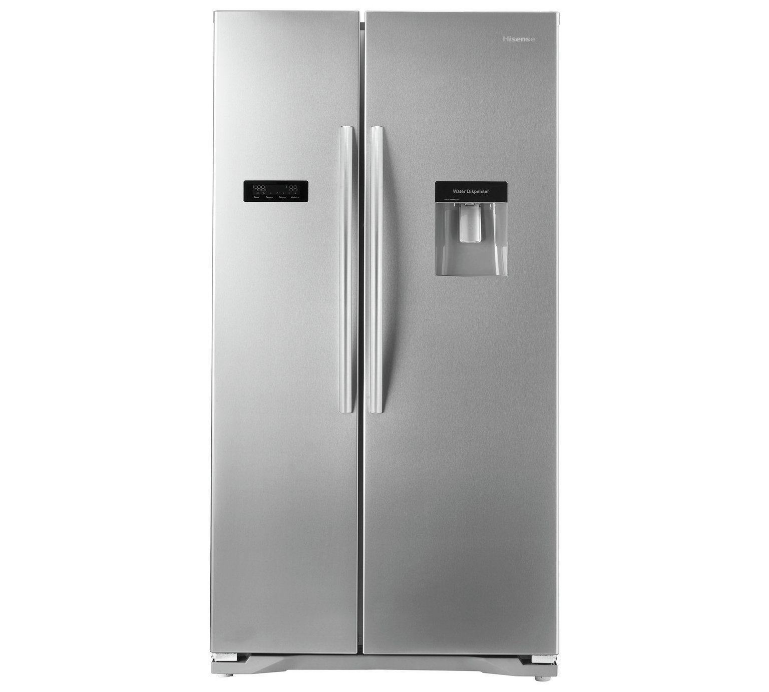 Buy Hisense Rs723n4wc1 American Fridge Freezer W Water Dispenser At Argos Co Uk Visit Argo American Fridge Freezers Buying Appliances Kitchen Large Appliances