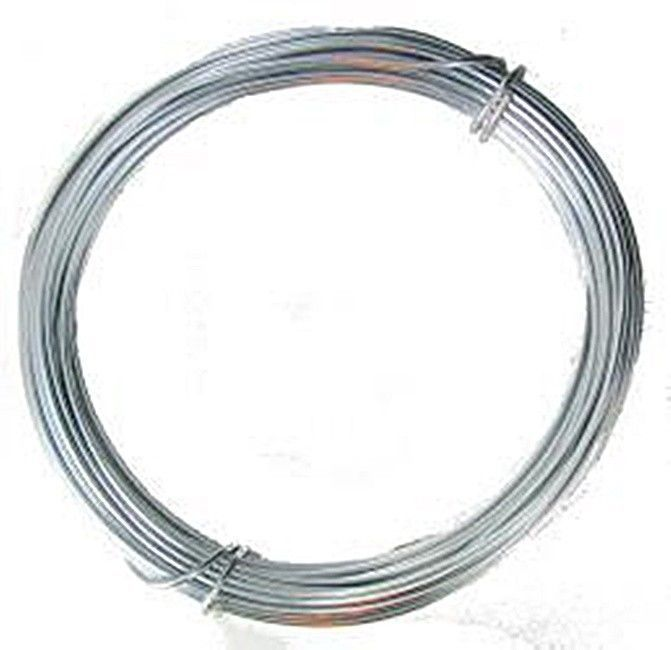 Anodized Aluminum Wire Silver Color- 12 Ga 39' Wire Wrapping - Jewelry Making #Unbranded