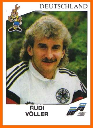 Rudi Voller Germany Germany Football National Football Teams Football Stickers