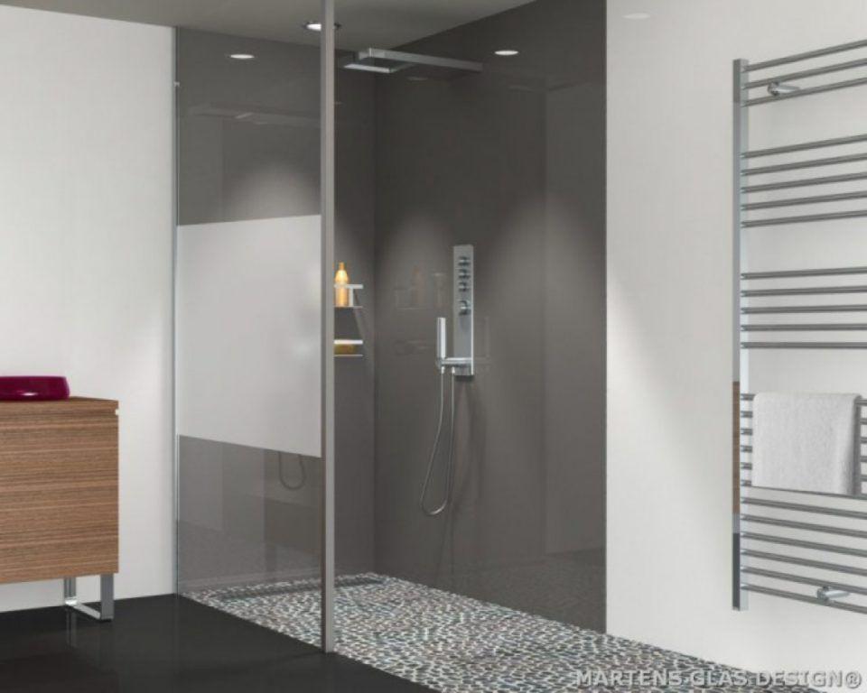 Martens glas design glazen inloopdouches op maat bathroom
