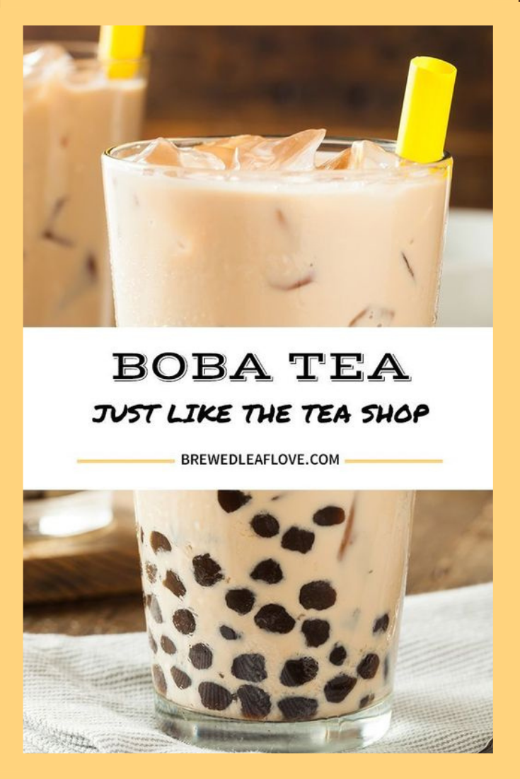Did You Know You Can Make Your Own Yummy Bubble Tea From This Easy Diy Recipe At Home Here S How To Make Homemade Boba Tea In 2020 Boba Tea Bubble Tea