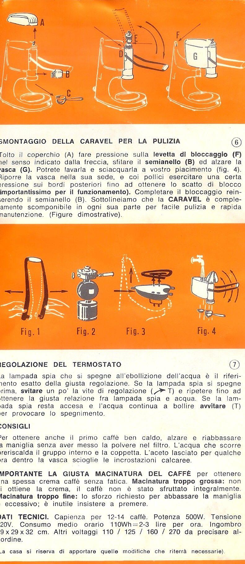 Caravel Espresso Machine Instruction Manual  Coffee Maker