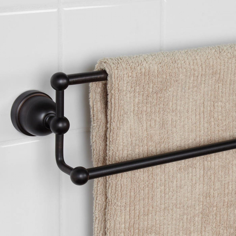 Cade Double Towel Bar | Towels, Bar and Bath