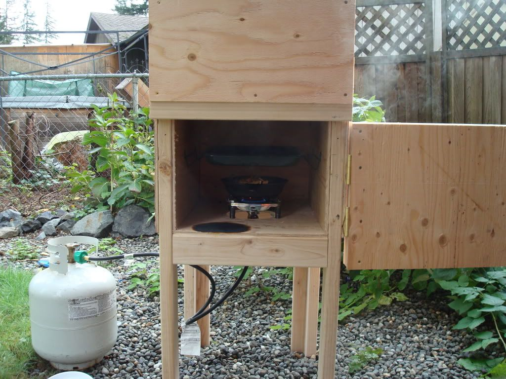 my insulated plywood propane smoker fire pits pinterest