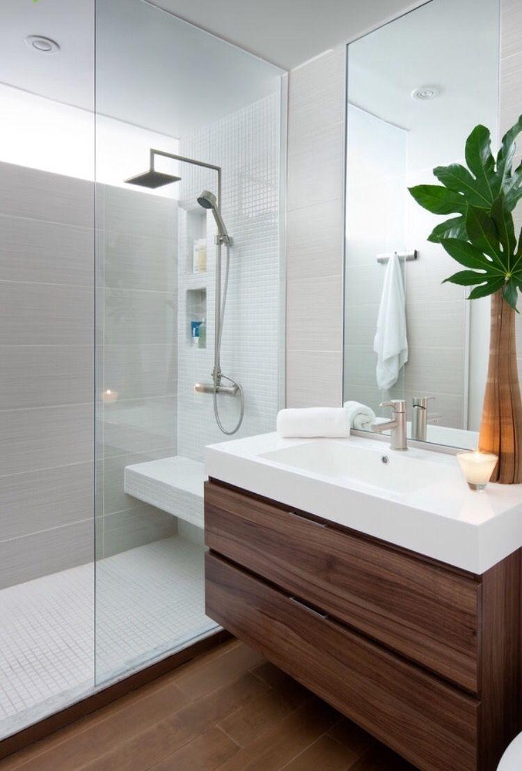 Distinto suelo ducha del resto | baños de ensueño. | Pinterest ...
