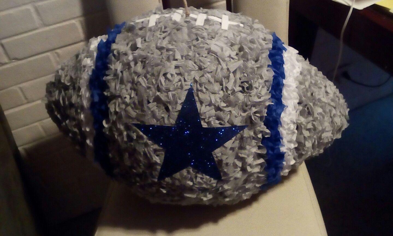 Dallas Cowboys pinata   My Works   Dallas cowboys party, Cowboy