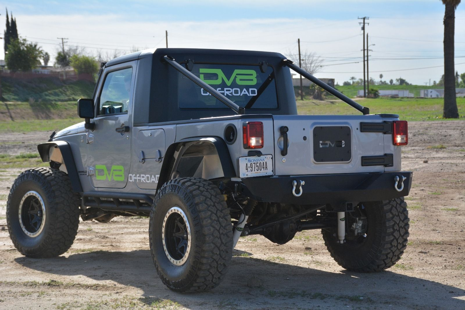 Car brand auctionedJeep Wrangler Truck Conversion New