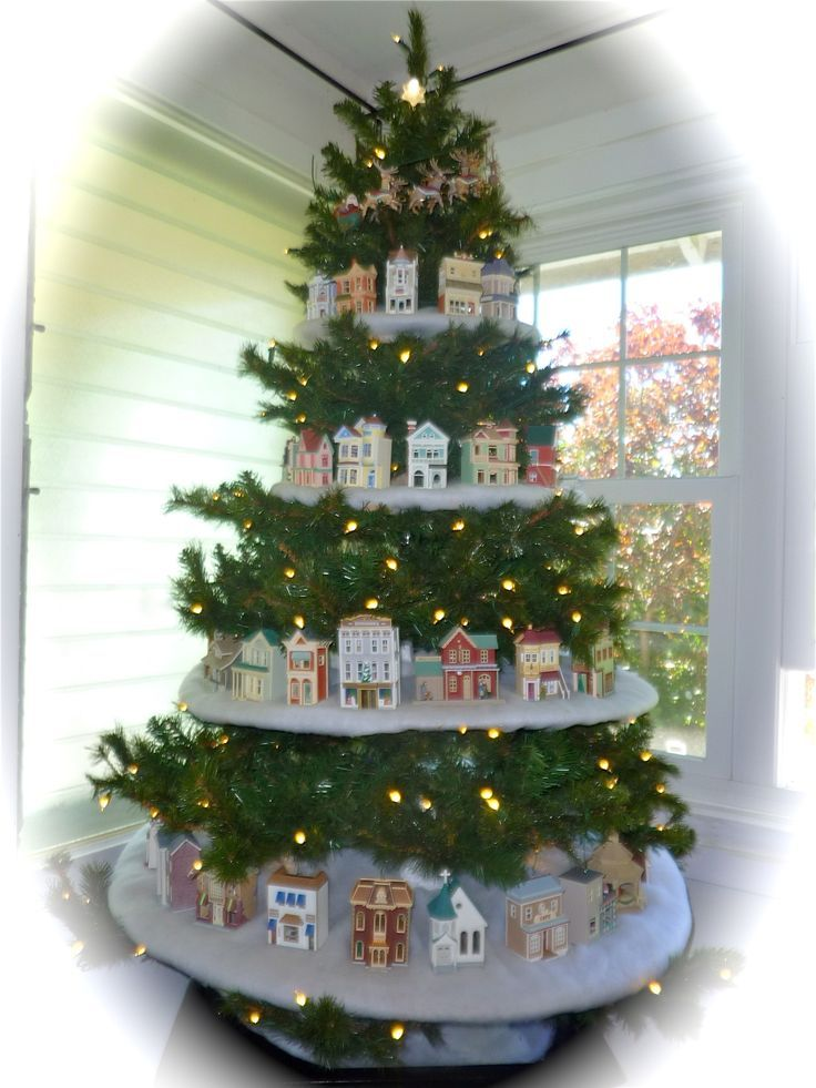 hallmark nostalgic christmas houses 2014 google search cool christmas ideas unique christmas decorations