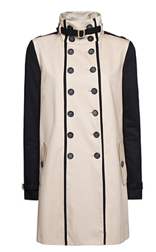 MANGO Two-tone Trench Coat #Shopping #Obsession