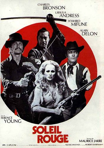 Soleil Rouge 105 Charles Bronson Sun Movies Red Sun Movie