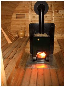 Anyone build an outdoor wood fired sauna from scratch for Build a wood burning sauna