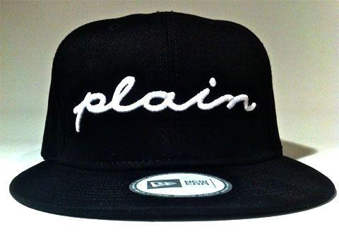 plain snapback
