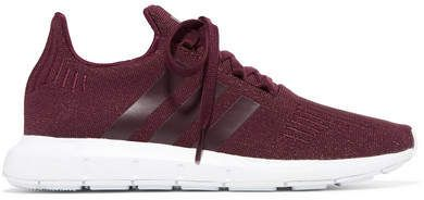 separation shoes 17229 89bb7 Adidas Originals - Swift Run Glittered Primeknit Sneakers - Burgundy  activewear workoutclothes sportswear Adidas adidasoriginals shopstyle  ...