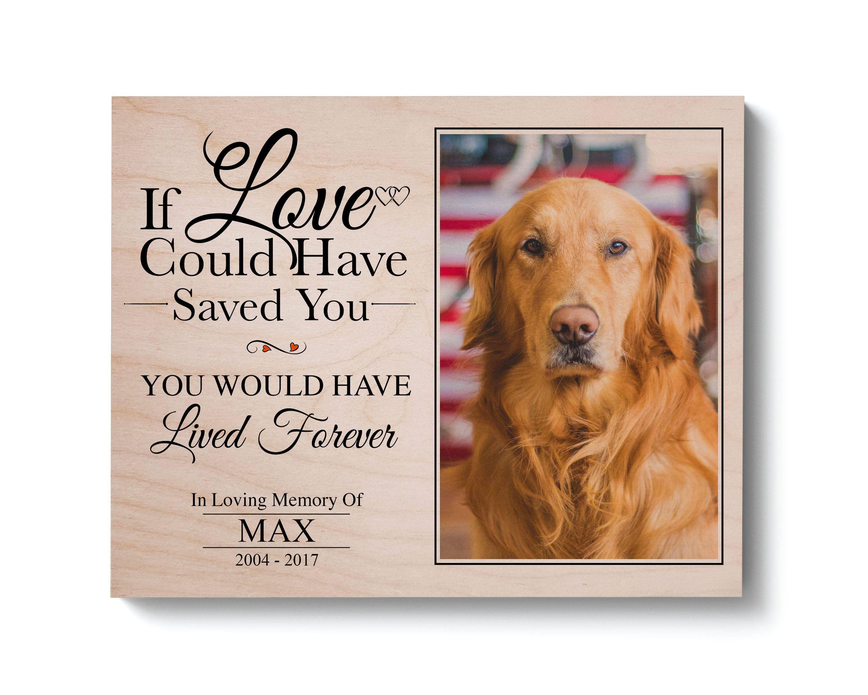 Dog Memorial Gift Pet Memorial Frame Pet Loss Gift Pet Etsy Dog Memorial Gift Dog Memorial Pet Memorial Gifts