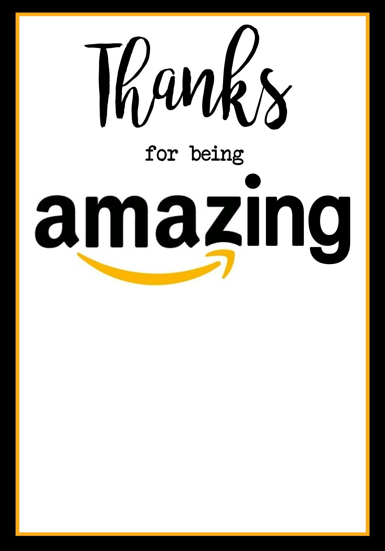 Teacher Appreciation Amazon Card Teacher Appreciation Cards