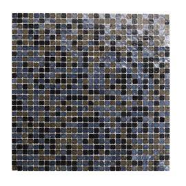 Mosaique Verre Noir 30x30 Akira Verre Noir Verre Et Carrelage Sdb