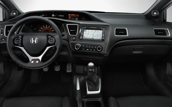 2013 Honda Civic Si Sedan   Interior Photo Gallery   Official Honda Website