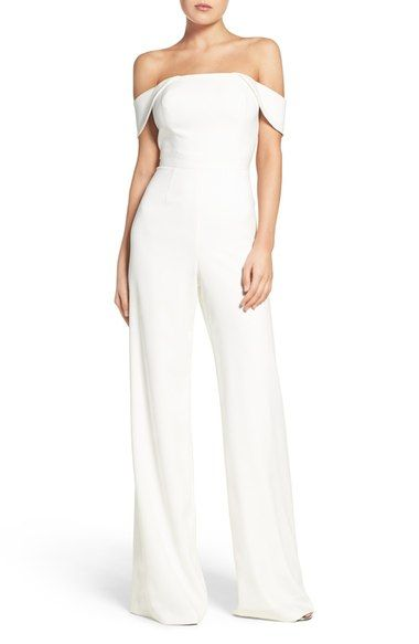 White Pant Suit Nordstrom