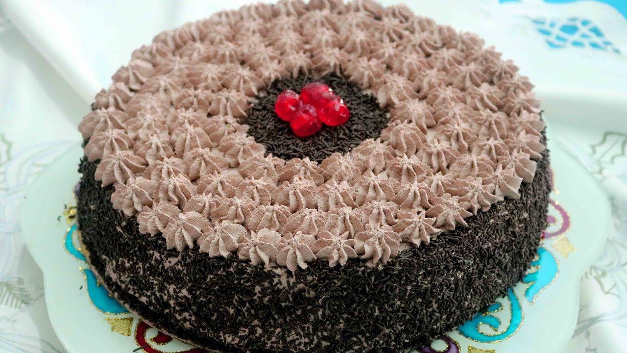 حلوة لاكريم بالشكلاط طعم لذيذ جدا بالشيكولاتة Desserts Cake Image