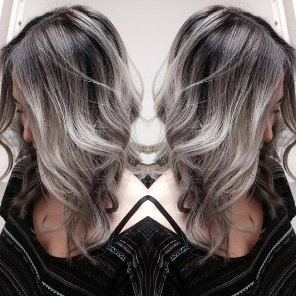 couleur de cheveux gris noir