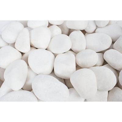 White Pebbles Landscaping With Rocks, White Garden Rocks Home Depot