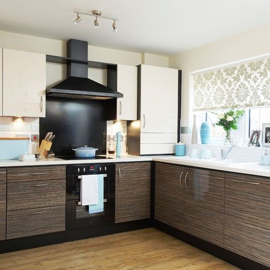 Modern Kitchen With Duck Egg Accessories Kitchens Modern And