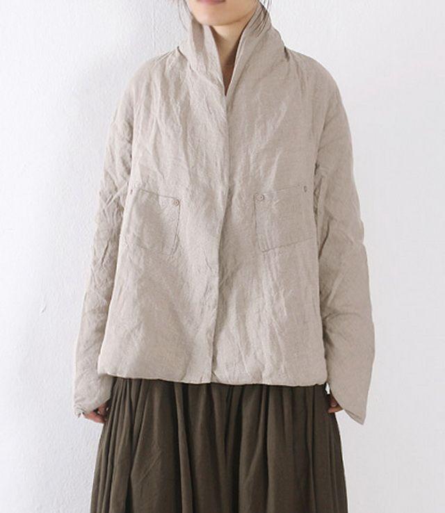 Solid Color Linen Warm Cotton Coat Solid Color Linen Warm Cotton Coat gift for her - $51.00 : Original Fashion in Comfortable Fibers - Organic Cotton, Linen, Silk, Cashmere, Bamboo and More   Zeniche.com