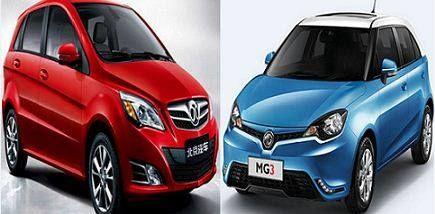 وجها لوجه مقارنة بين Mg3 وسينوفا A1 أحمد شوقي كشفت المقارنة بين النسختين الهاتشباك من السيارتين Mg3 وسينوفا A1 عن العديد Sports Car Suv Car Car