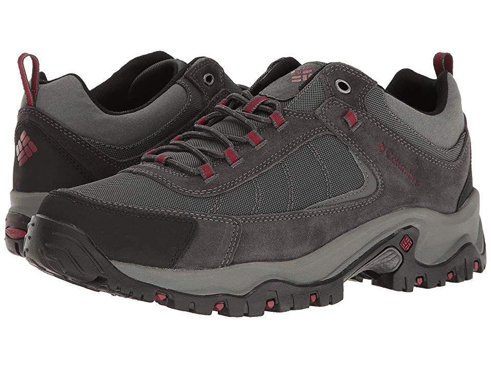 Columbia Granite Ridge Men's Shoes Dark Grey/Red Element