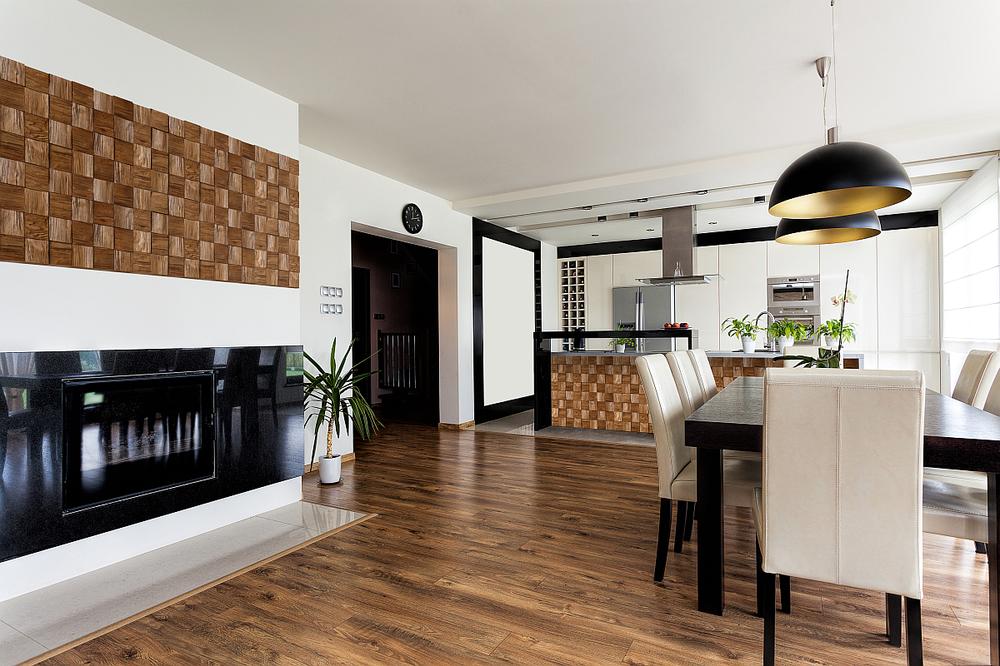 Drewniane Panele ścienne Inspiracje Dom