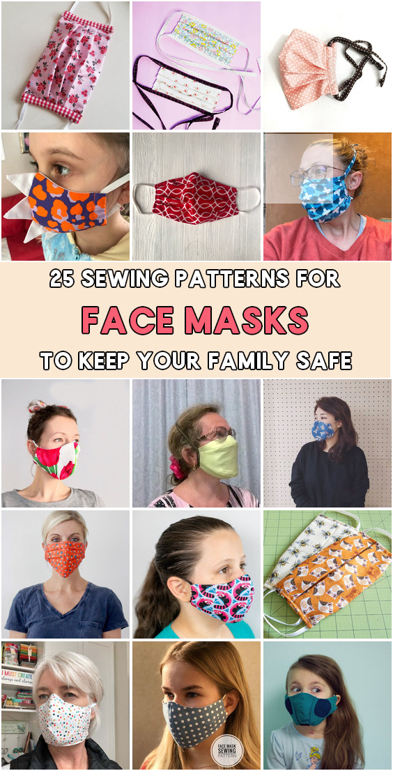 now face mask sewing simple face, sew mask with ties
