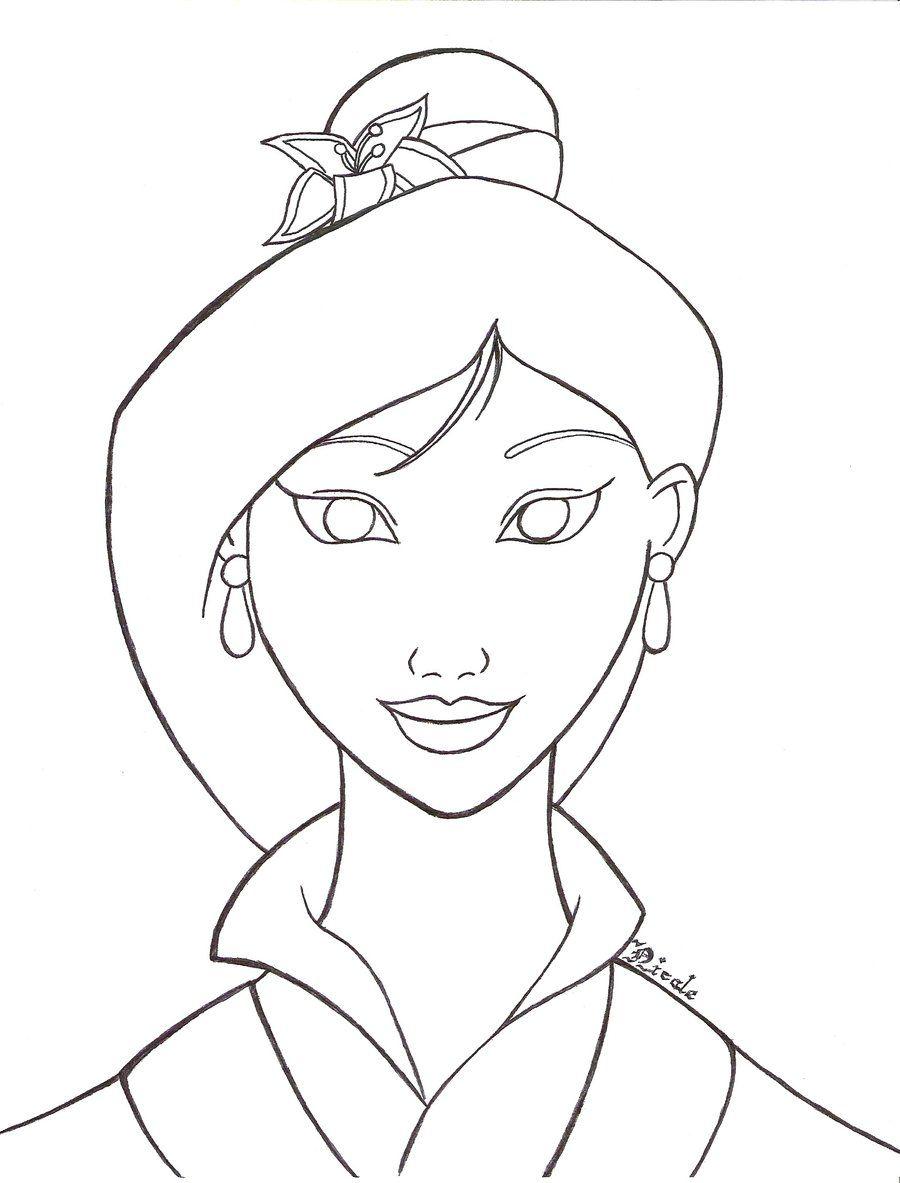 Mulan Line Art By Nicole Aoi 135 On Deviantart Drawing Superheroes Drawings Disney Drawings