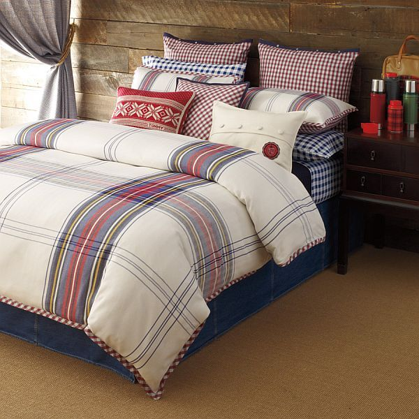 Hilfiger Tartan bedding by Tommy Hilfiger - Home Decorating Trends