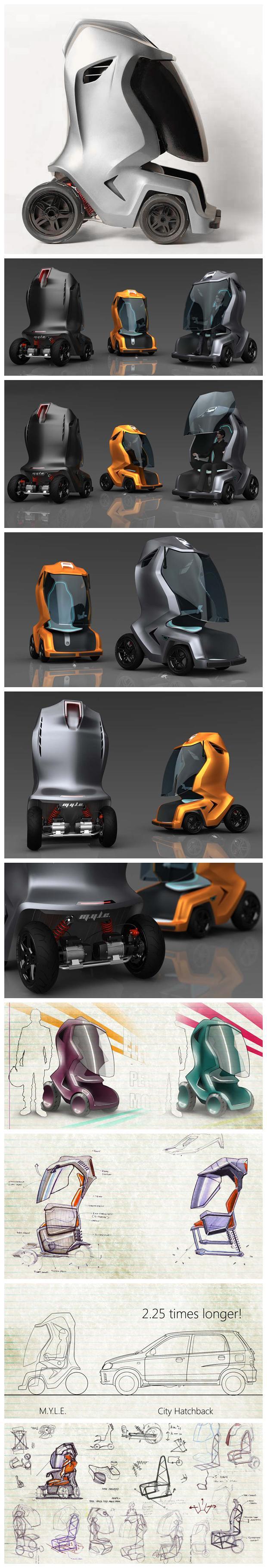 MYLE - Electric Vehicle Concept