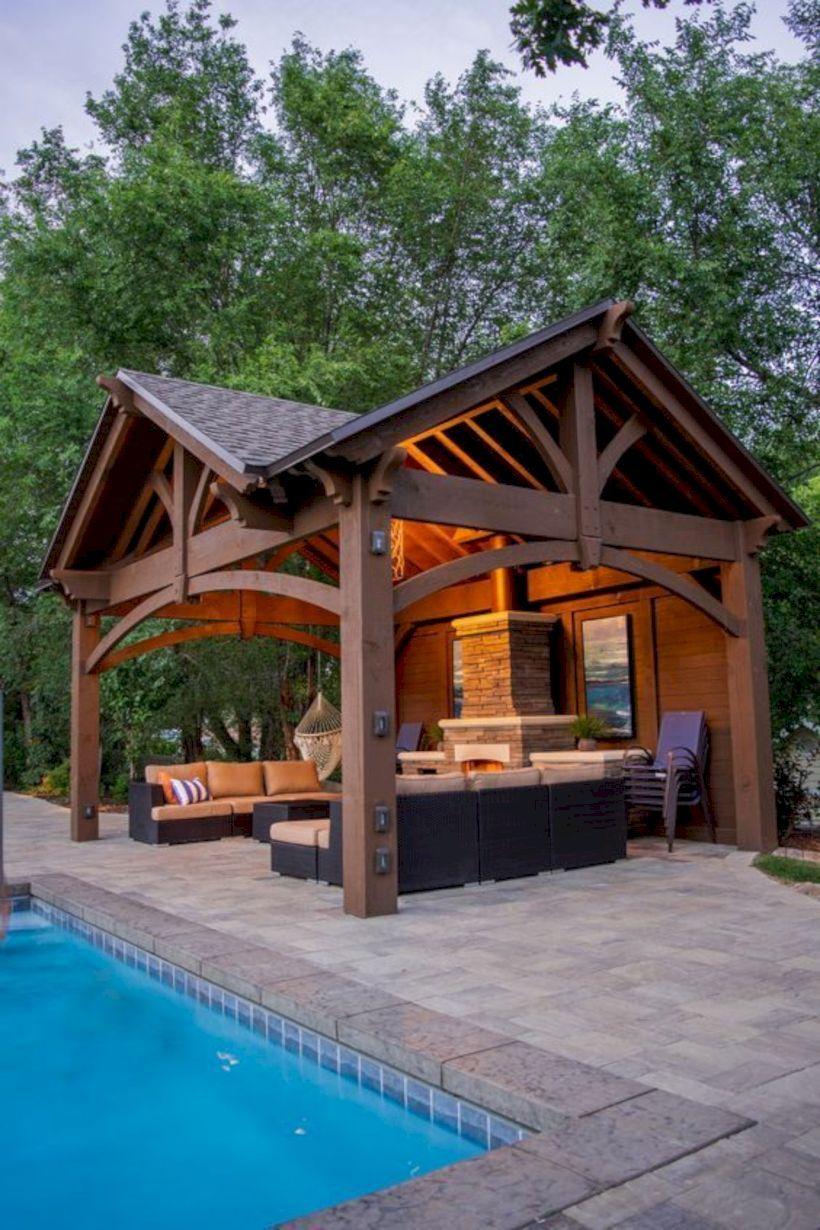 48 Outdoor Kitchen Design Ideas That Very Inspire Backyard Patio Designs Backyard Pavilion Outdoor Kitchen Design