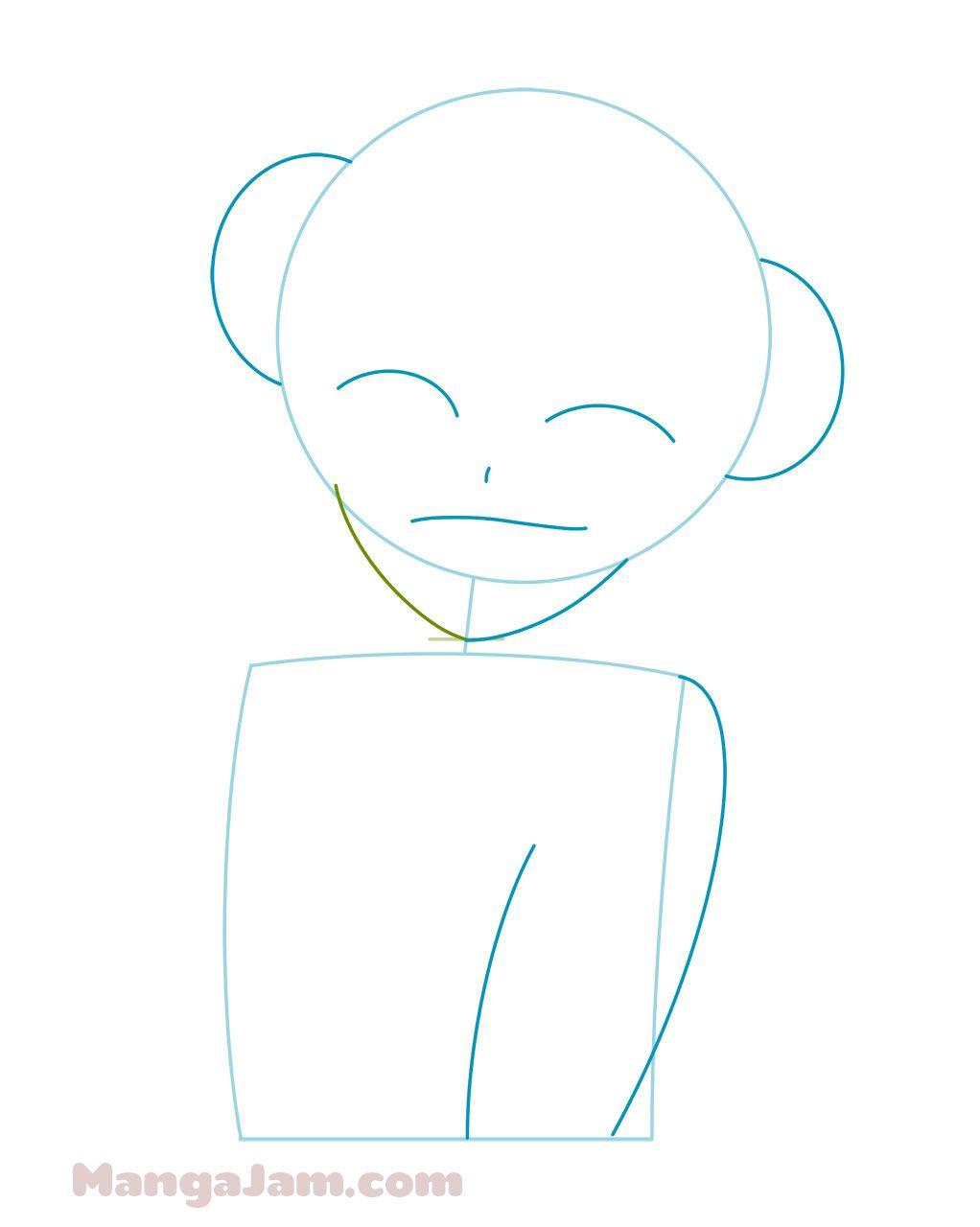 How Draw Himiko Toga My Hero Academia 02 Anime Character Drawing Toga My Hero