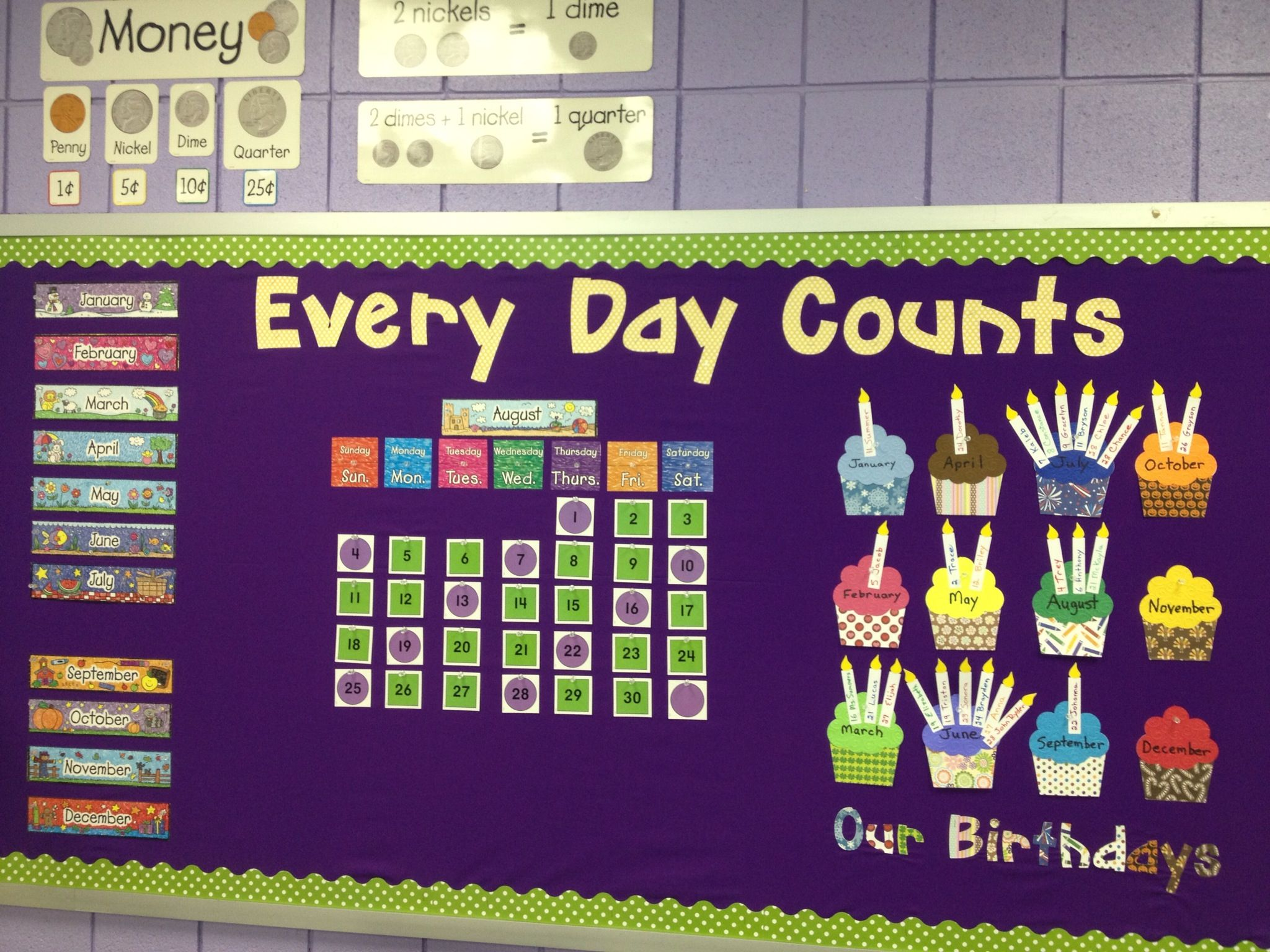 Every Day Counts 1st Grade Calendar With Some Extra