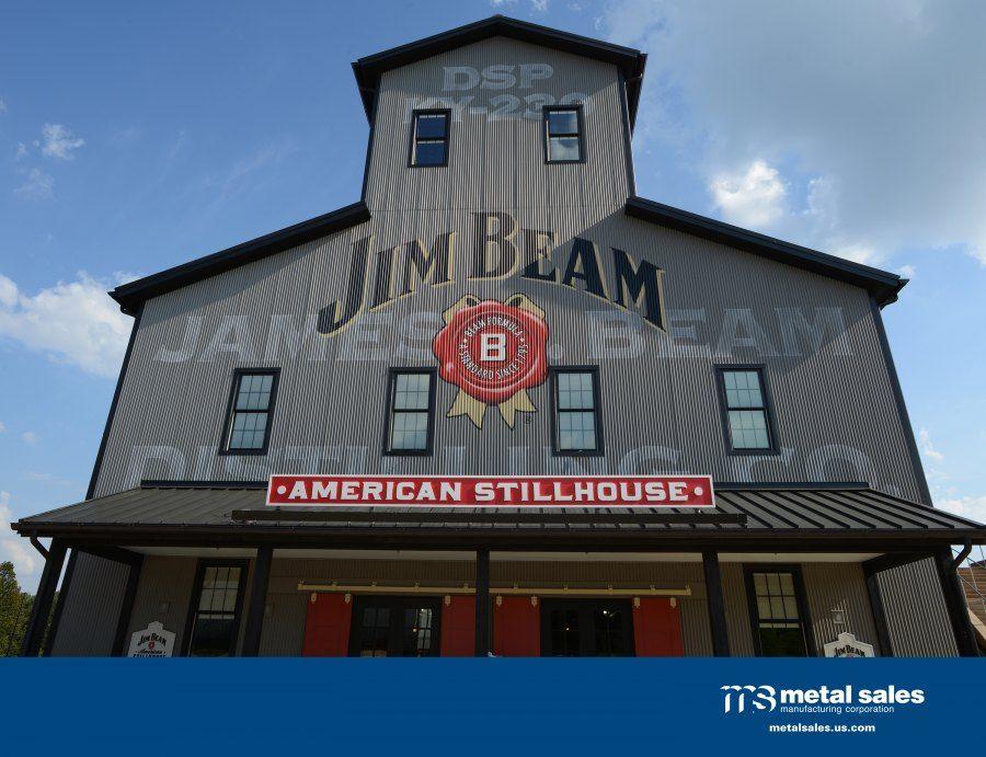 Best Old Zinc Gray Jim Beam Corrugated Metal Siding Beams 400 x 300