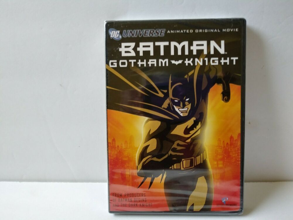 Batman gotham knight dvd 2008 standard edition