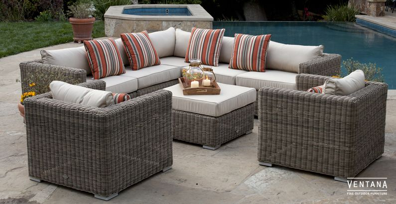 Deep Seating Outdoor Furniture Stunning Sectionals Patio Sets
